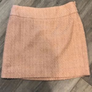 The Limited Pink Tweed Pencil Mini Skirt Size 2